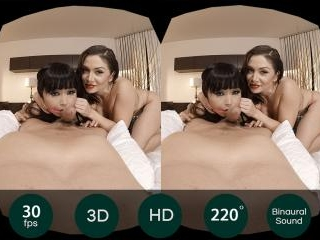 Virtual Reality - Mistress Lea and her Japanese Pe