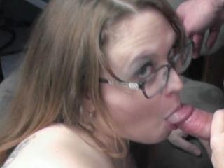 Plump housewife Alexsis Sweet is down on the floor