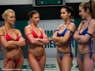 TAG TEAM LEAGUE Team Red vs Team Blue