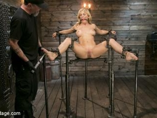 Athletic MILF Fuck Toy Cherie Deville Punished in
