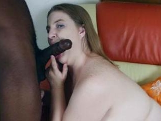 Sexy Plumper Enjoying a Big Black Cock