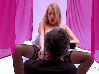 Teena  : Backstage video with a gorgeous Russian b