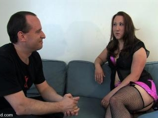 Amateur Casting Couch 17: Mina the horny camper