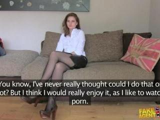 Slim Euro Girl Want The Job!