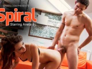 Aneta J in Spiral