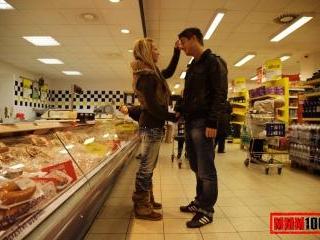 Fresh meat shopping