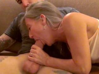 Cock humping senior citizen