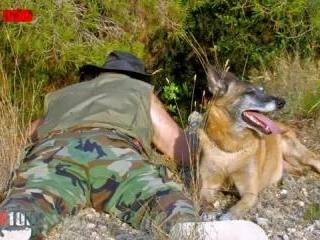 The lucky hunter!