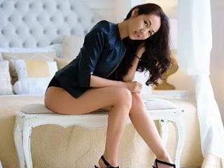 Hot Asian AminaFlame Striptease