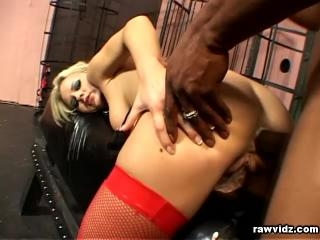 Blonde Sex Slave By Black Stud