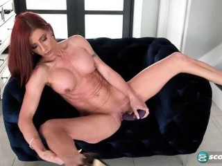 MILF Gabby Lamb stretches out