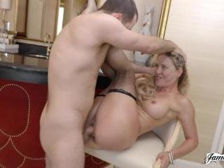 Cherie Deville Gets The James Deen Treatment