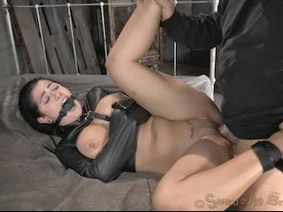 Big Titted Katrina Jade Gets Double Dicked