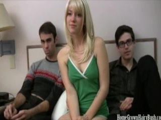 Dirty Blonde Gwenn Takes On Jared And Daniel