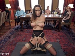 Fresh 19 Year Old Tied Tight and Made to Serve Org