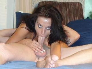 Cumming In Her Thirsty Mouth - Marijane Fine & Mik