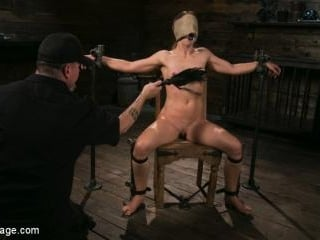 Cheyenne Jewel Punished with Unwilling Orgasms and
