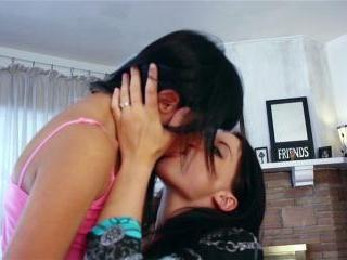 Angelica Sky and Jasmine Gomez vigorous lesbian ro
