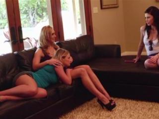 Heather Starlet,  Tanya Tate and  Brooklyn Lee in