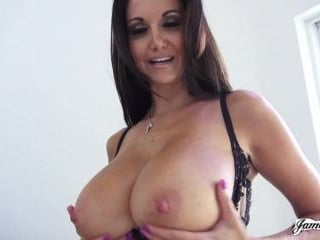 Ava Addams Plays With Her Big Boobs