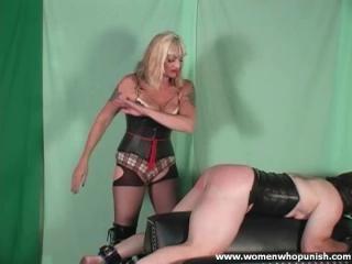 Bare hands spanking