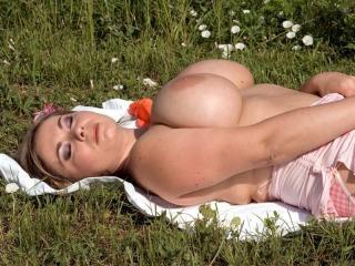 Sun-kissed tits