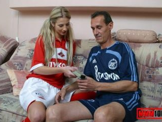 Young lady with and older gentleman
