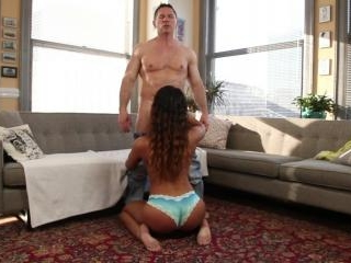 Teanna Trump gets on her knees faster than you can