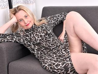 Horny British housewife getting wet and wild on he