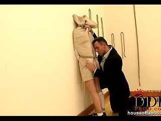 Ruthless guy Choky Ice spanking Miho Lechter's