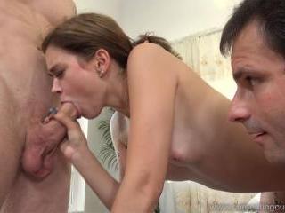 Rhaya Shyne Has Husband Watch As She Cums Hard Wit