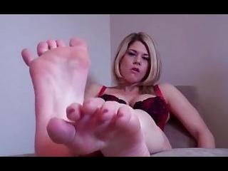 My feet make you so hard