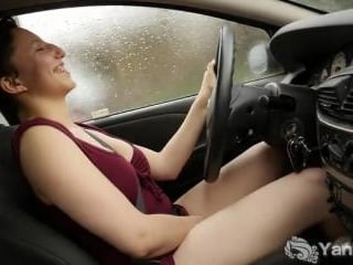 Jenny Mace Orgasms While Driving