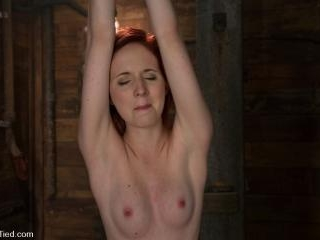 Horny girls also cum in small packages: Megan Murr