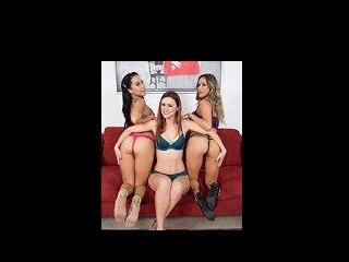 Pornstar Threesome LIVE