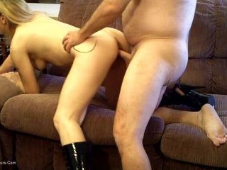 Panties and Boots Fuck Pt 2