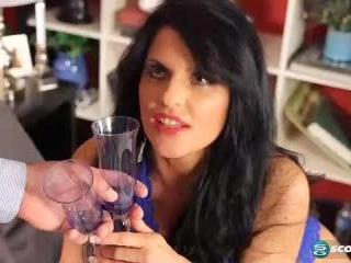 Jade Steele in Jade Drinks Cum