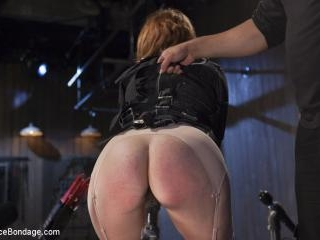 Hot Red Head Gets Tormented and Ass Fucked
