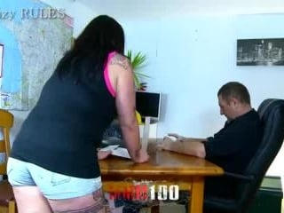 Chubby chik gets banged