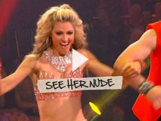 Erin Andrews looks amazing while dancing with the