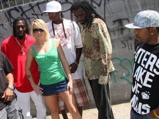 Brittany Angel Gangbang - Blacks On Blondes