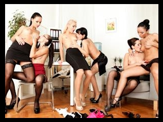 Lesbian Oil Orgy #03