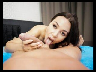 Naughty Russian Has Her Stepfather Creampie Her As
