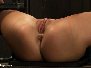 Milf made to squirt over & over.Fucked, caned, nip
