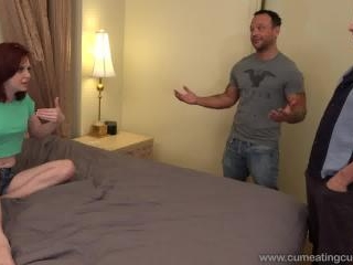 Evins Emma gets fucked front of her husband