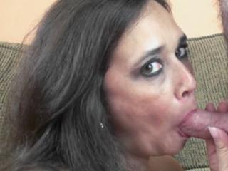 Curvy wife Alesia Pleasure lets her big tits bounc