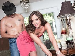 Once in a blue moon, Natalie gets ass-fucked on-ca