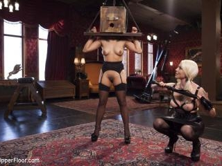 Bossy Bitch Governess, the Slave Girl and the Butl