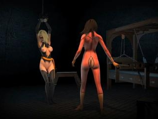 Caught Captured And Lashed - Hottest 3D anime sex