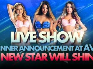 Live Winner Announcement at AVN
